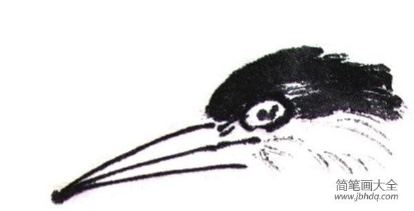 水墨雪_水墨翠鸟的绘画教程