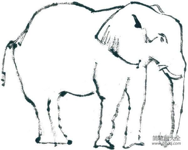 【国画与西方绘画有什么不同】国画大象的绘画步骤