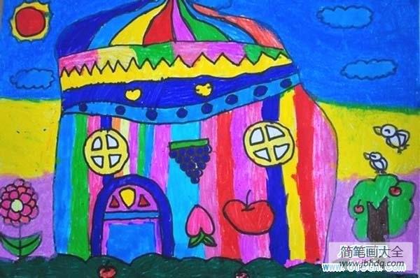 漂亮的李慧珍 电视剧_漂亮的蒙古包房子儿童画图片