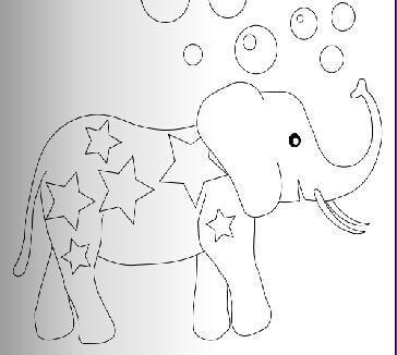 吹泡泡舞蹈视频|吹泡泡的大象