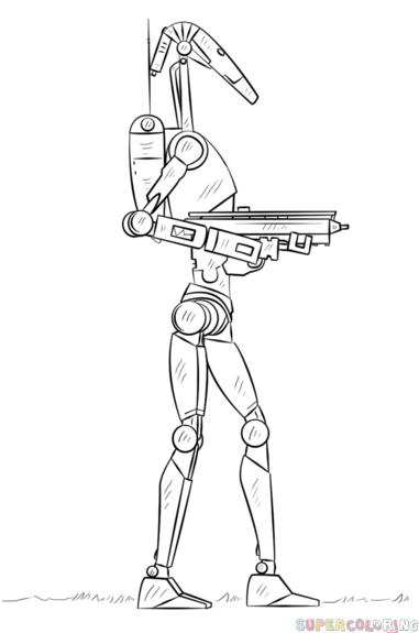 [战斗机器人怎么画]如何画战斗机器人