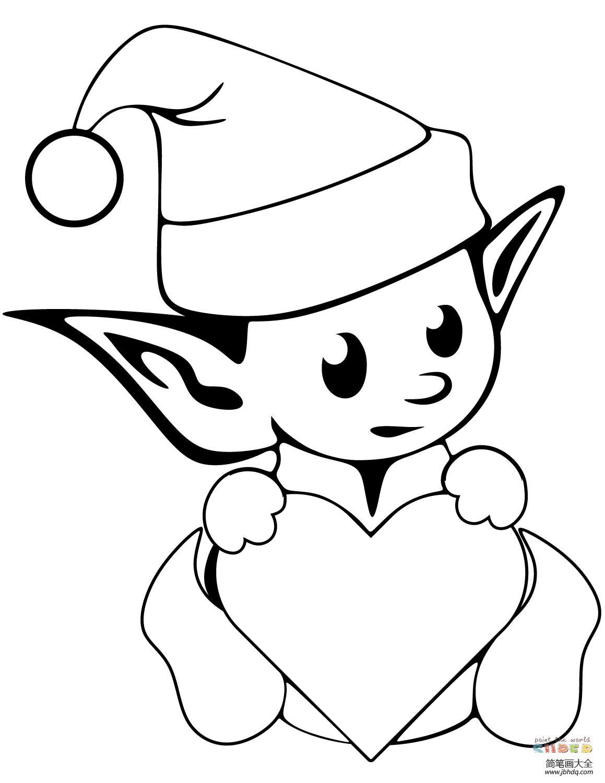 【小精灵图片 卡通可爱】可爱的圣诞小精灵