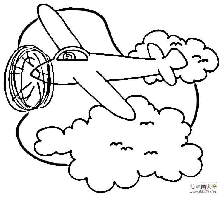 飞机飞过天空|飞机在天空上