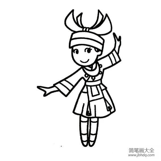 可爱的图片|可爱的瑶族女孩