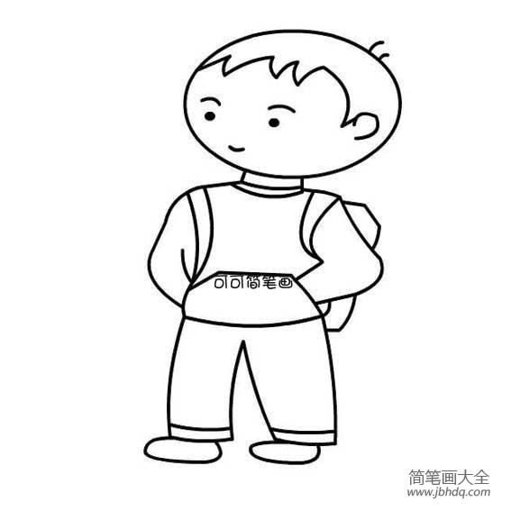 男孩英文名|小男孩背书包