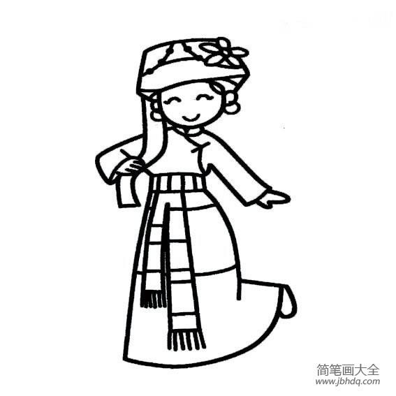 【普米族简介】普米族女孩