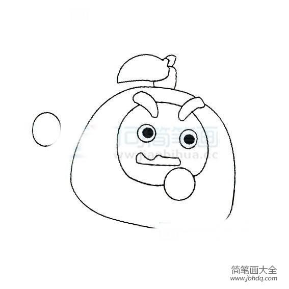 【简单的西餐】简单的儿童学画卡通人物