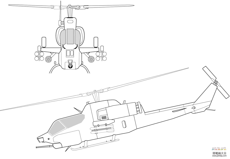 AH-1W超级眼镜蛇直升机