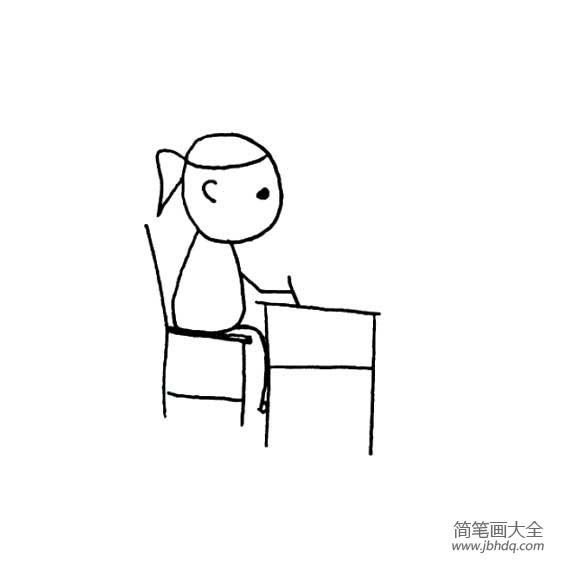 关于爱学习的成语_爱学习的小女孩简笔画
