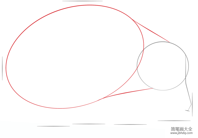 如何画刺猬