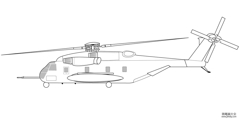 [学画奥特曼]学画军用直升机