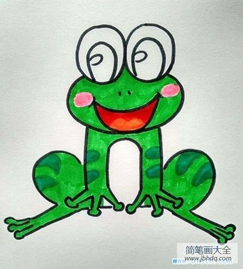 幼儿园大班数学练习题|幼儿园大班青蛙儿童画图片