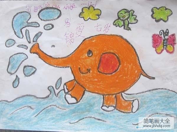七一年属什么|七岁一年级小学生大象儿童画画图片