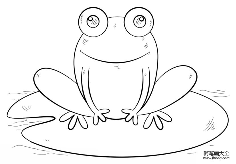 [画青蛙的简笔画]如何画青蛙简笔画