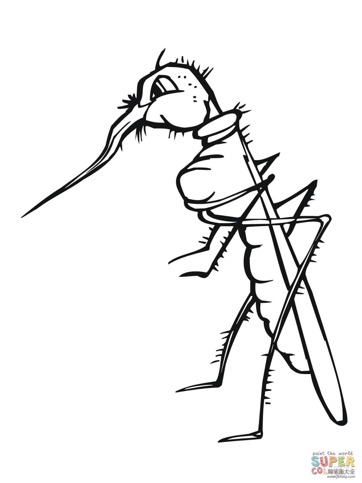 [动漫蚊子简笔画图片大全]动漫蚊子简笔画图片