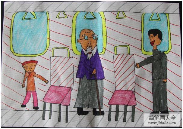 [我们都是活雷锋歌词]到处都是活雷锋小学生水彩笔画欣赏