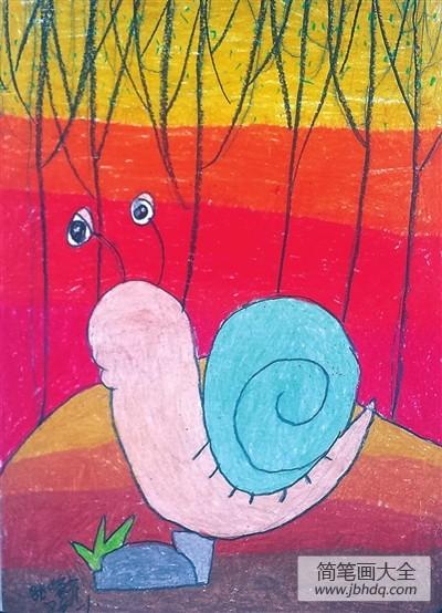 [如果蜗牛有爱情]蜗牛之森儿童画