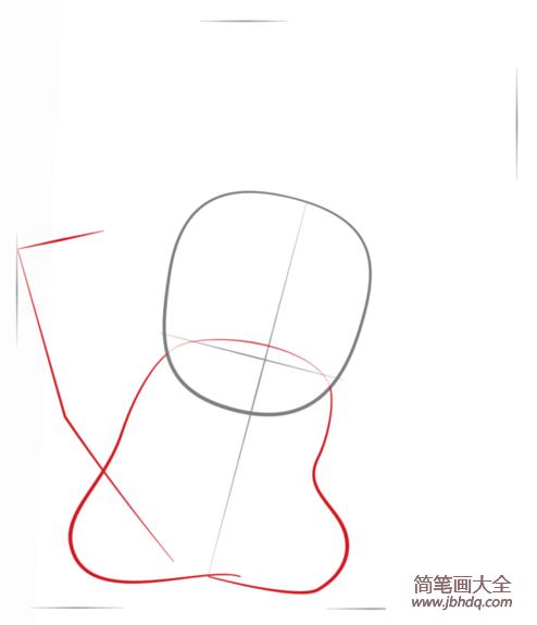 皮卡丘简笔画教程