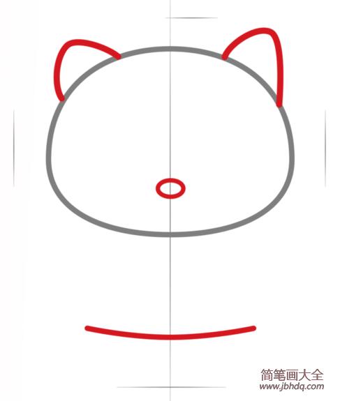 Hello Kitty简笔画教程