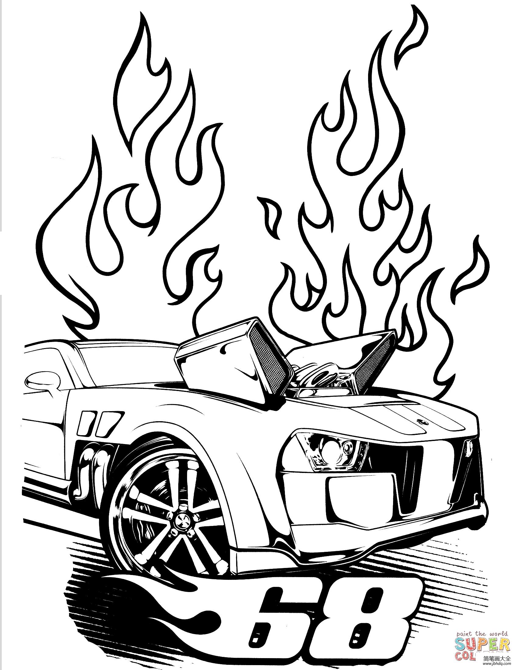 各种型号的风火轮小汽车