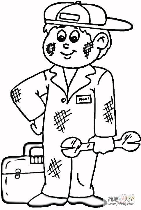 汽车维修技术网 汽车维修工人