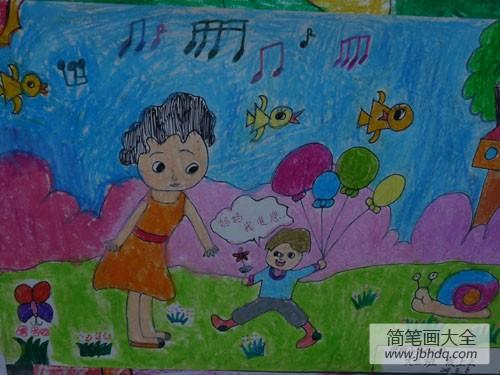 三八妇女节的来历简介_三八妇女节宝宝绘画-妈妈我爱你