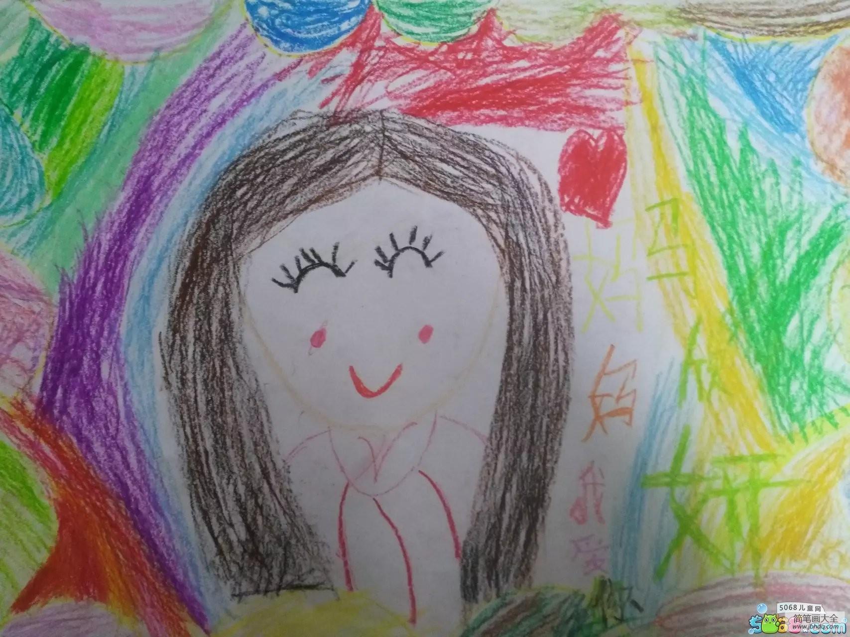 [祝所有的三八们节日快乐]祝亲爱的妈妈节日快乐三八妇女节绘画作品大全