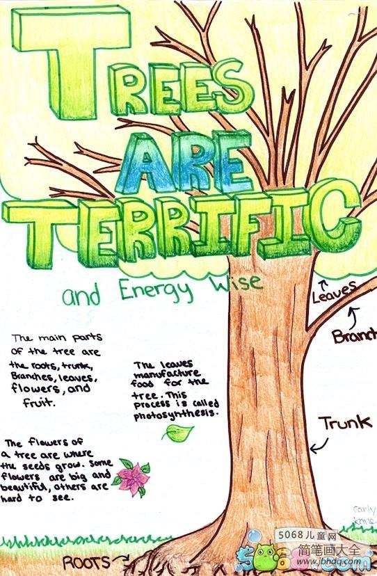 最重要的大事|最重要的大树外国小朋友植树节画画图片大全